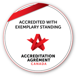 Accredited with Exemplary Standing - Accredition Agrément Canada